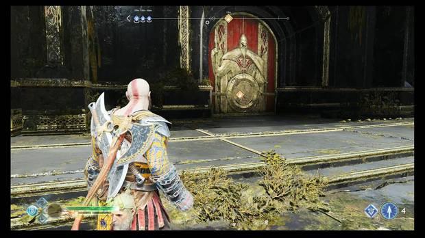 God of War - El camino a Jotunheim - Esta es la puerta