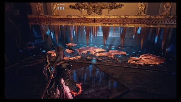 God of War - El camino a Jotunheim - Lanza el cristal al hueco