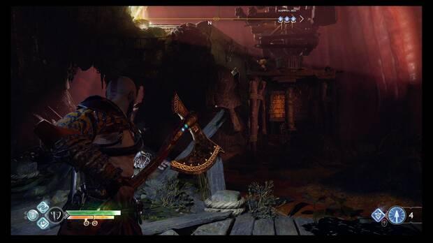 God of War - Jotunheim al alcance - Activa ese mecanismo