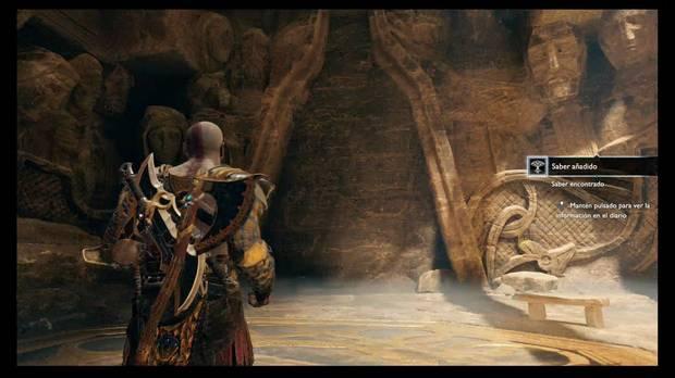 God of War - Las cenizas de madre- Este muro tiene runas
