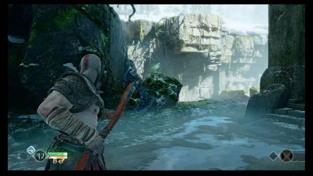 God of War - La senda a la montaña - Cuervo de Odín