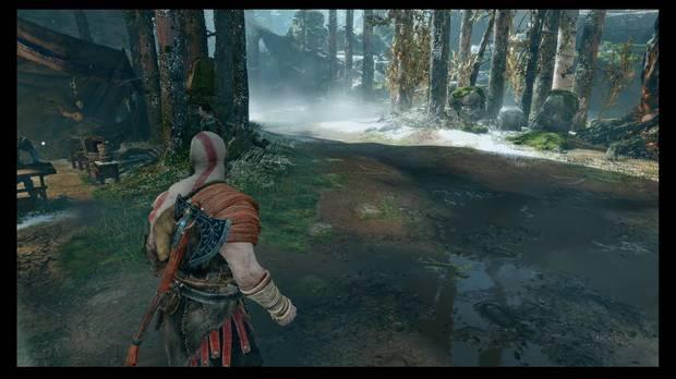 God of War - La senda a la montaña - Ve hacia allí para encontrar otro Rostro