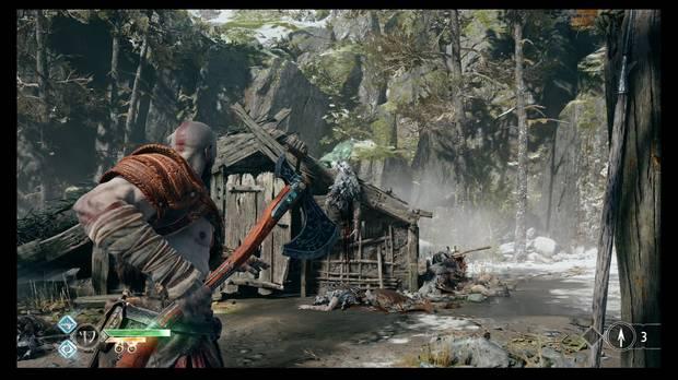 God of War - La senda a la montaña - Otro cuervo