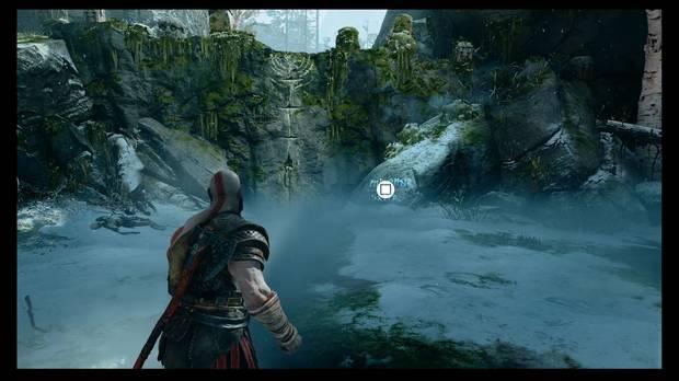 God of War - La senda a la montaña - El primer marcador de saber