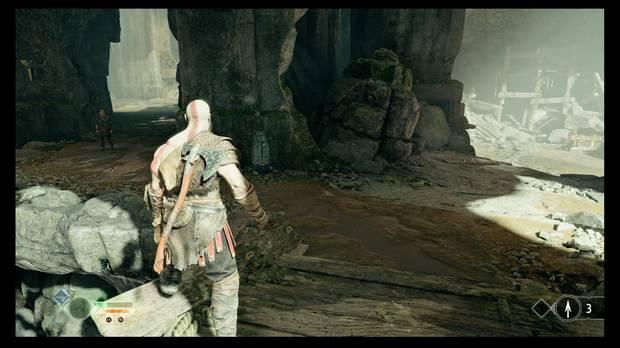 God of War - La senda a la montaña - La única runa complicada está ahí