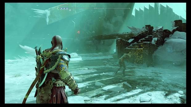 Cámara de Helheim God of War PS4