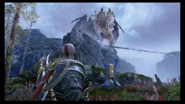 God of War, Favores, Dragones, El fuego de Reginn