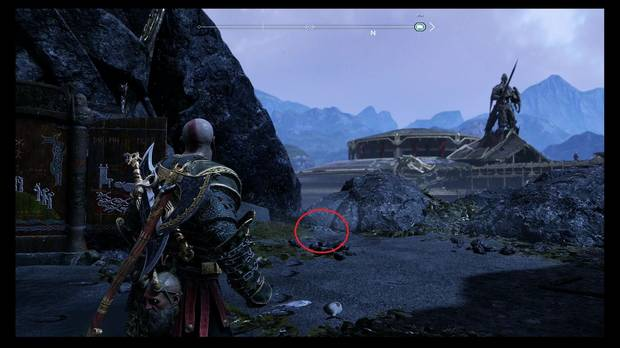 God of War, Mapa del Tesoro: ¡Arrodíllate ante Thor!
