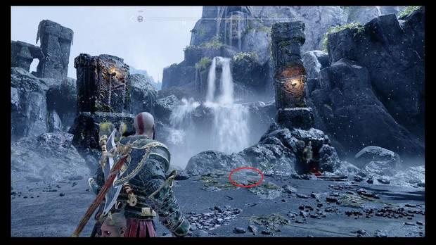 God of War, Mapa del Tesoro - El último sitio en el que mirarían