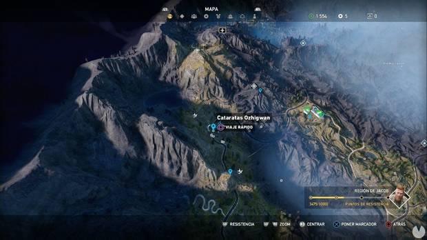 Far Cry 5, Escondites de preparacionista, Región de Jacob, En suspense