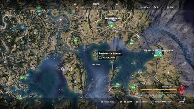 Far Cry 5, Escondites de preparacionista, Región de Jacob, Restos