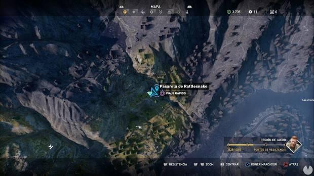 Far Cry 5, Escondites de preparacionista, Región de Jacob, SOS