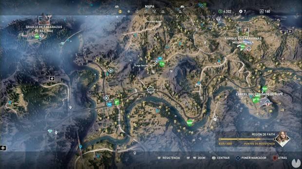 Far Cry 5, Región de Faith, Santuarios