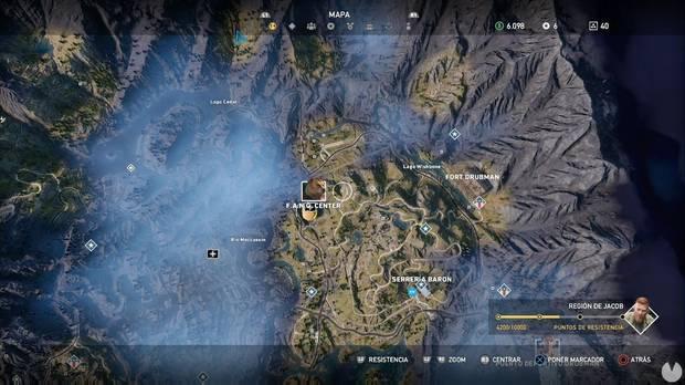 Far Cry 5, Región de Jacob, Propiedades de la secta, Balizas de Lobo