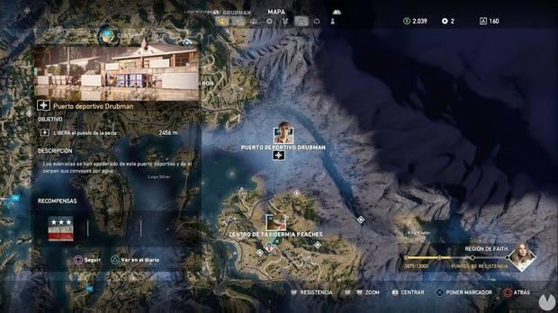 Far Cry 5, Puestos de la secta, Región de Faith, Puerto deportivo Drubman