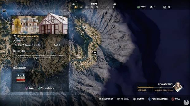 Far Cry 5, Puestos de la secta, Región de Faith, Invernadero Jessop