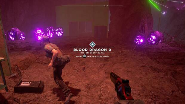 Far Cry 5, Easter eggs, Blood Dragon
