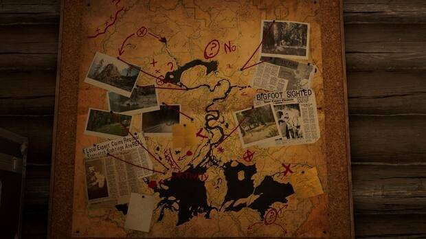 Far Cry 5, Bigfoot, Mapa, Easter Egg, DLC