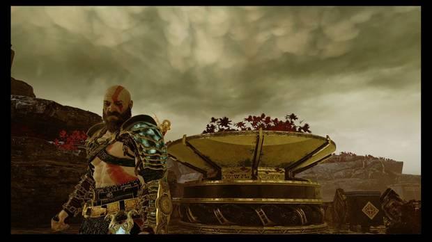 God of War, Armaduras, Niebla maldita de Ivaldi