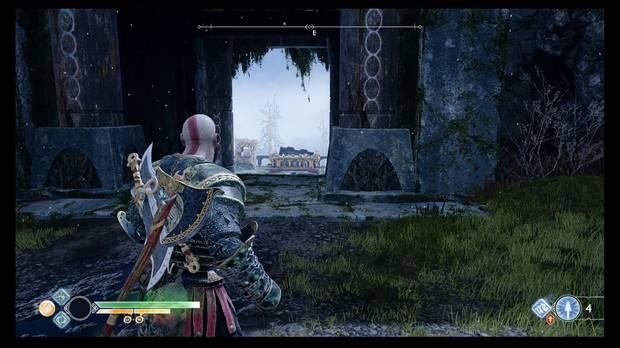 God of War, Cofres de las Nornas, Konunsgard, final, muralla, Viento de Hel