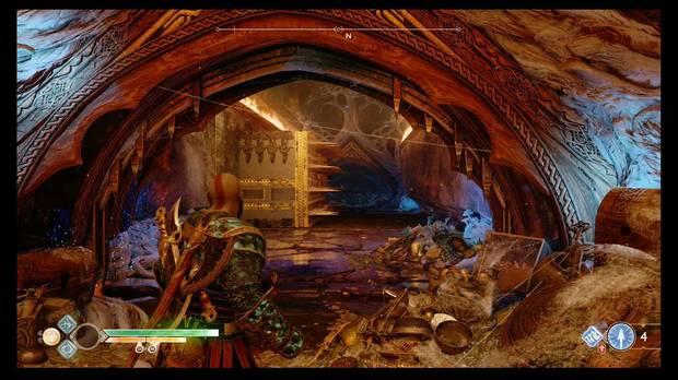 God of War, Cofres de las Nornas, Templo de Tyr, Pasillo de pinchos
