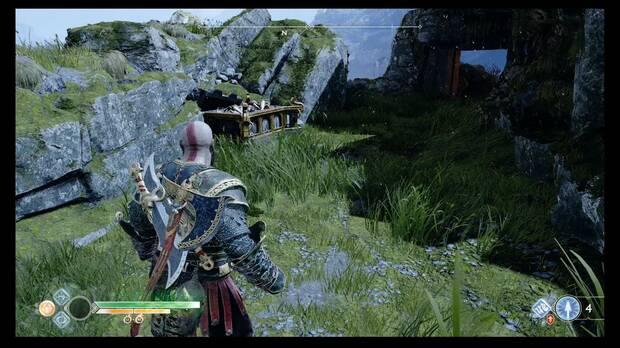 God of War, Cofres de las Nornas, Veithurgard, este del dragón
