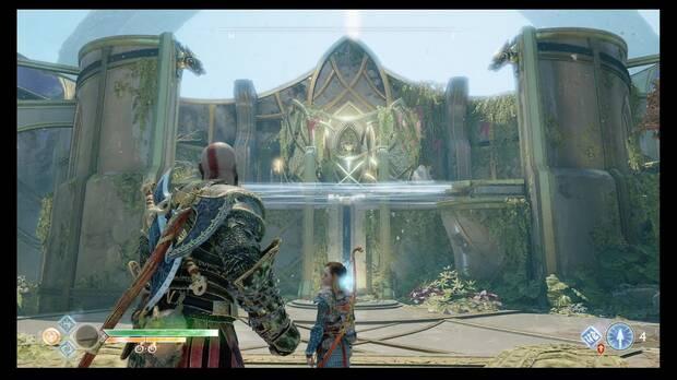 God of War, Cofres de las Nornas, Alfheim, Templo de Luz, Cofre de las rejas