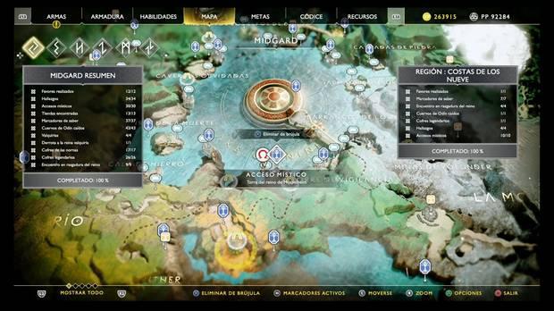 God of War, Mapas del Tesoro, Tesoro Secreto Edición Coleccionista, Puño prohibido inmemorial