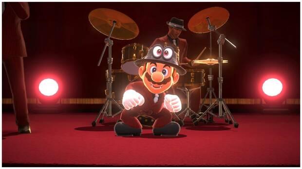 Super Mario Odyssey, Nuevos Trajes, Actualización, Sombrero y Traje de Músico