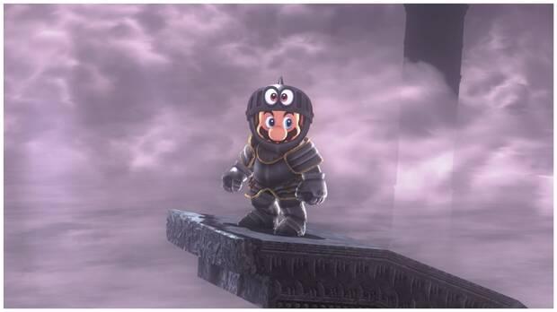 Super Mario Odyssey, Nuevos Trajes, Actualización, Yelmo y armadura de caballero