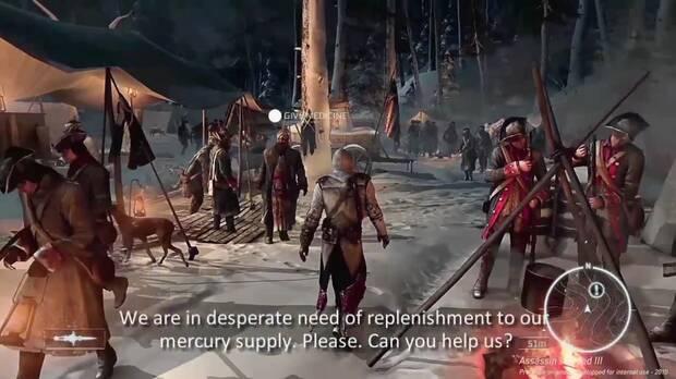 Así era el espectacular prototipo de Assassin's Creed III en 2010 Imagen 2
