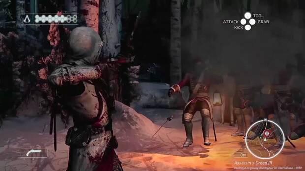 Así era el espectacular prototipo de Assassin's Creed III en 2010 Imagen 3