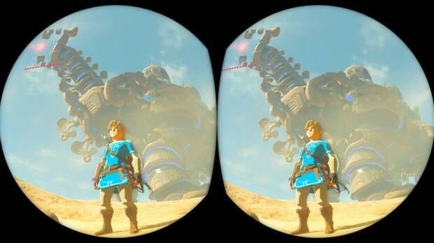 Detalladas las características de Zelda: Breath of the Wild en realidad virtual Imagen 3