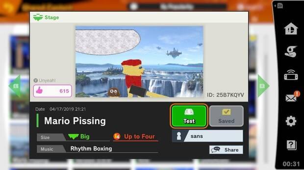 Reina el caos en el Editor de Escenarios de Super Smash Bros. Ultimate Imagen 2