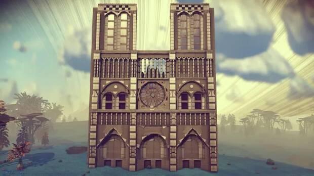 Los jugadores de No Man's Sky rinden tributo a la catedral de Notre-Dame Imagen 2