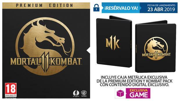 GAME detalla sus ediciones y contenidos exclusivos para Mortal Kombat 11 Imagen 3
