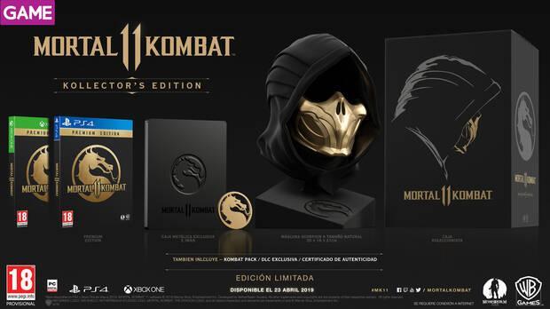 GAME detalla sus ediciones y contenidos exclusivos para Mortal Kombat 11 Imagen 4