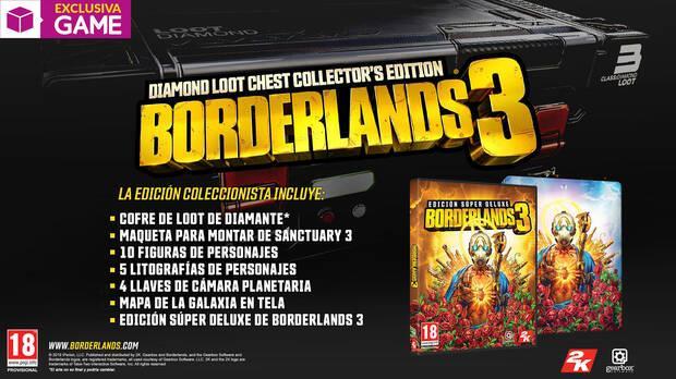 GAME detalla sus regalos, incentivos y ediciones exclusivas para Borderlands 3 Imagen 5