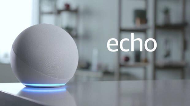 Echo, one of the Amazon Alexa devices.