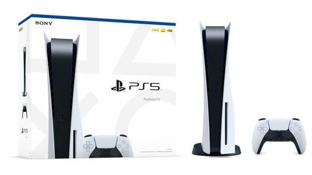 Caja de PS5 edici