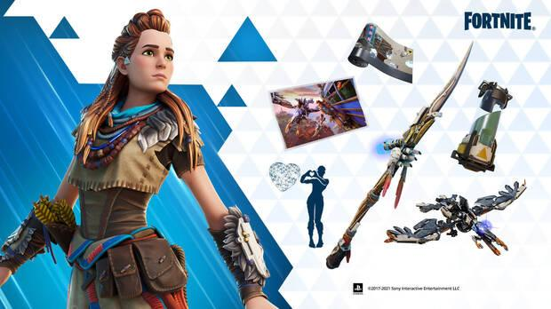 Aloy's skin: all content