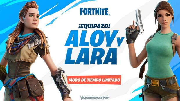 Aloy and Lara's limited time mode