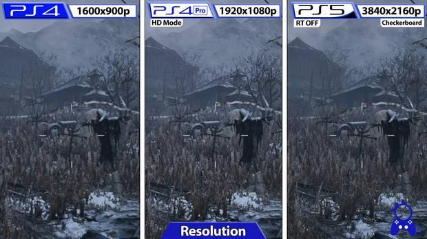 Resident Evil Village demo PS5 PS4