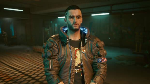 Mod de V de Cyberpunk 2077 como en el tr