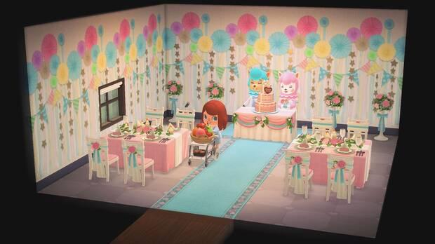 Temporada de bodas 2021 en Animal Crossing: New Horizons.