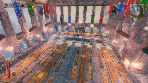 Construye Hogwarts dentro de Valheim