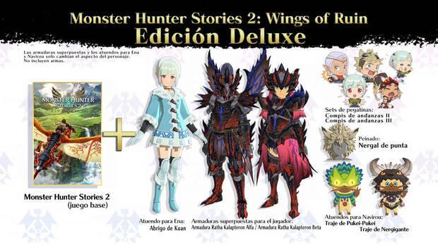 Incetivos por reservar Monster Hunter Stories 2: Wings of Ruin.
