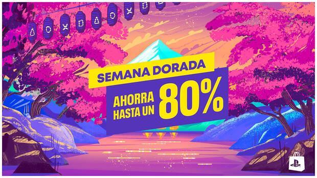 Ofertas de Semana Dorada en PS Store.