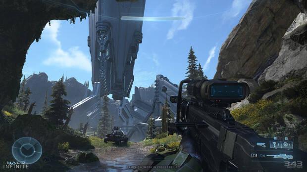 Halo Infinite screenshot on PC.