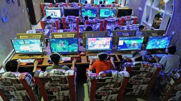 China internet cafes